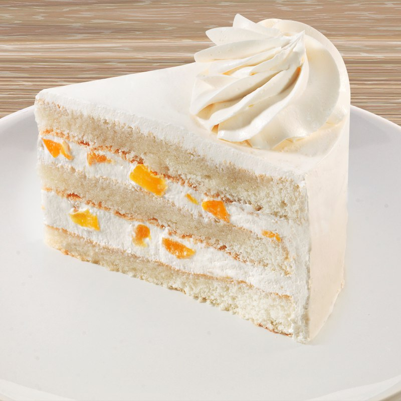 торт Персик со сливками