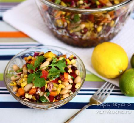 фоторецепты мексиканских салатов