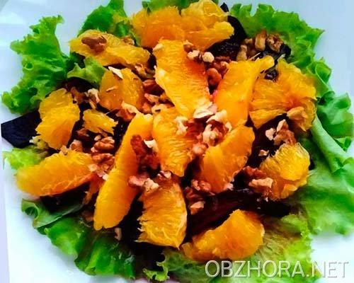 Салат из свеклы и апельсина рецепт очень вкусный
