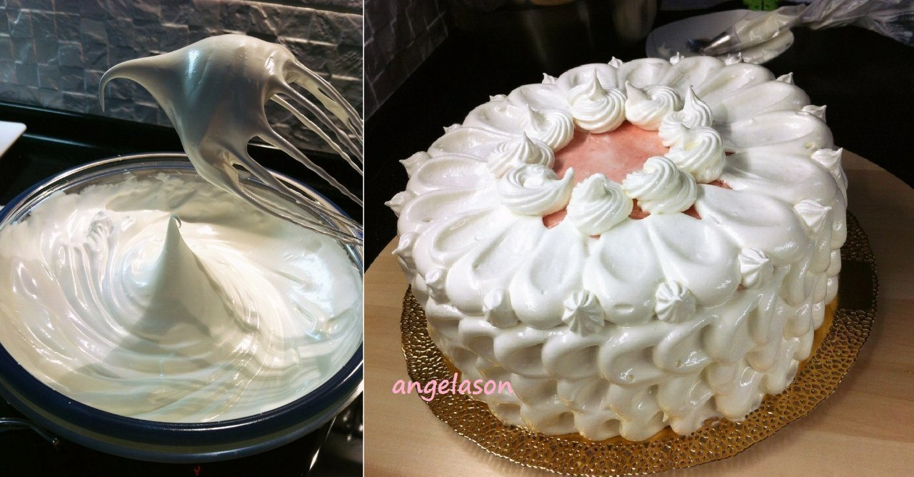 Крем для торта безе в домашних условиях