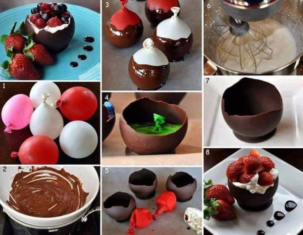 Фото рецепты десертов в формочках
