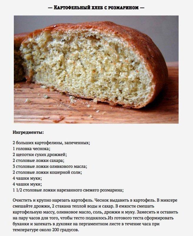 Рецепт выпечки хлеба в домашних условиях на сухих дрожжах